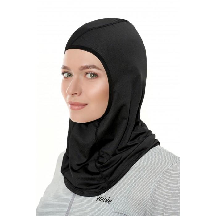 Basic Collection Sports Hijab (Black Type B)