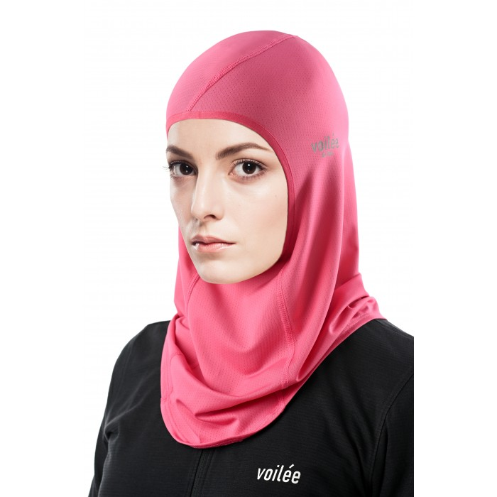 Spectra Collection Sports Hijab (French Rose Pink Type A)