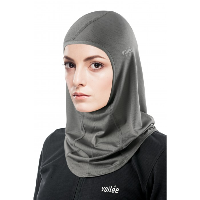 Spectra Collection Sports Hijab (Graphite Grey Type A)