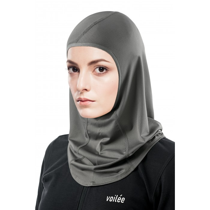Spectra Collection Sports Hijab (Graphite Grey Type B)